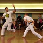 Les démonstrations de l'après-midi : capoeira
